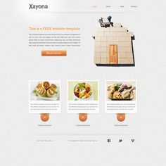 Generic Website - I like how minimal it is Free Html Website Templates, Html Templates, Own Website, Web Design, Free Downloads, Minimal, Graphics, Technology, Tech