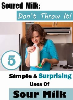 Milk Soured? Don't Throw It: 5 Simple Surprising Uses Of Soured Milk