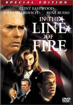 b07ffa8aa0f In the Line of Fire Blu-ray Starring Clint Eastwood