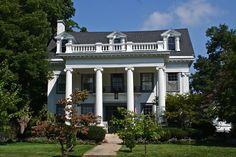 GREEK REVIVAL STYLE HOUSES | House Plans by Garrell Associates, Inc