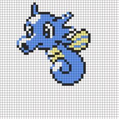 Horsea Cross stitch Pattern