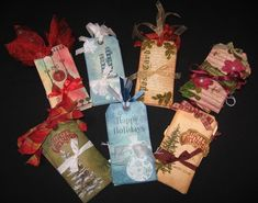 My friend Kim is hosting a booth at a local fundraiser for the Boys and Girls Clubs in our area.  She is selling hand made gift tags and pa...