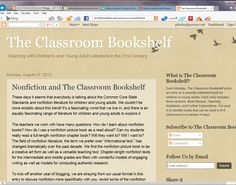 Highly-respected educator Mary Ann Cappiello discusses nonfiction types (subgenres). http://classroombookshelf.blogspot.com/2012/08/nonfiction-and-classroom-bookshelf.html