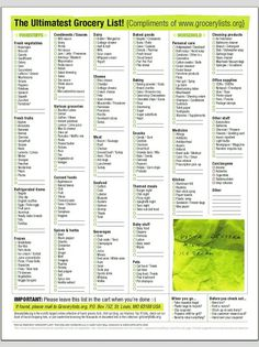 7 Best Images of Grocery List Template Printable Amenable - Blank Grocery List Template, Printable Grocery List Template and Printable Grocery Shopping List Template Planning Menu, Planning Budget, Printables Organizational, Grocery List Printable, Grocery Checklist, Grocery List Templates, Printable Coupons, Printable Planner, Pantry List