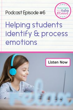 Today Haley shares ways to help students identify their emotions and process them. You'll hear about favorite books to use as well as favorite conversation starters to use in your classroom. Listen today!   Social Emotional Learning   Character Education   Early Elementary Resources   Elementary Counseling  