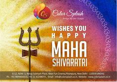May the glory of Shiva Shankar uplift your soul and banish all you troubles. || Happy Maha Shivratri||  #HappyShivRatri #Celebrations2016 #LordShiva