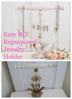 DIY Repurposed Jewel