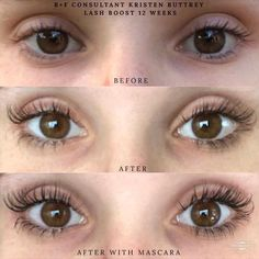 b4ff67ccf7c Another amazing Lash Boost result! These are her real lashes...Conditioned  and