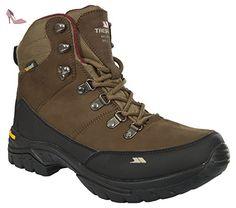 Trespass Kenter, Chaussures de Randonnée Hautes Femme, Marron (Cocoa), 38 EU - Chaussures trespass (*Partner-Link)