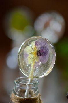uv resin dry flower