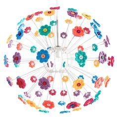 According to Matt...: Mini Hoop Flowers. ~❀CQ #crochet #crochetflowers