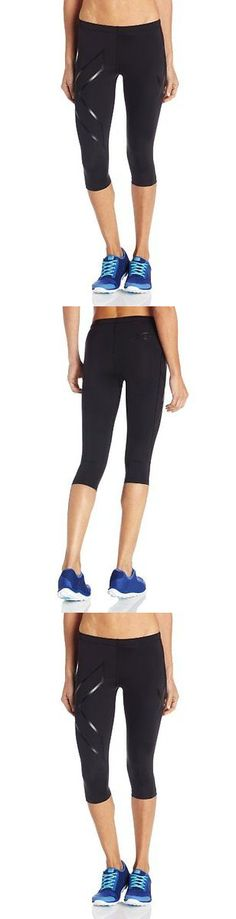Compression and Base Layers 179822: 2Xu Women S 3 4 Compression Tights Black Nero Medium Womens Running Compression -> BUY IT NOW ONLY: $111.64 on eBay!