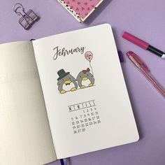 Plan With Me: My February Set Up in my Bullet Journal