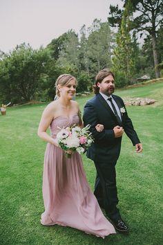 Matt & Jenna walking