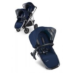 Uppababy Vista Rumble Seat 2015 Taylor - The newly designed RumbleSeat can go forward facing, rear facing and recline – it's the multitasking stroller seat you have only dreamed of. While one child is enjoying a snack, the other can be enjoying a catnap. BabyCubby.com