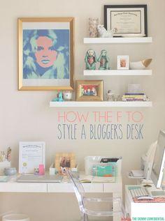 ::my desk space::