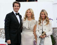 TRH Crown Prince Pavlos, Princes Marie-Chantal, and Princess Maria-Olympia attend the ARK anniversary dinner