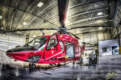 Canadian  helicopter air ambulance