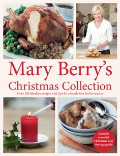 In Mary Berry's Christmas Collection Mary combines all her favourite winter recipes with a selection of new mouthwatering dishes to give us not only the time-honoured traditional roast turkey and classic Victorian Christmas cake, but also a variety of new and exciting food ideas for the festive period. RRP: £18.99