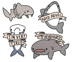 Image result for cute shark art