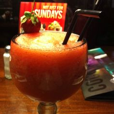 Strawberry daquerie at TGI Friday's Aberdeen...