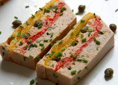 Bienvenue chez Spicy: Terrine au thon tomates et poivrons
