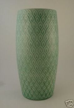 Aluminia MARSELIS Super TALL Vase Nils Thorsson 1950s (07/30/2008)