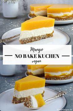 No bake kuchen mit mango - Vegan Cheesecake Recipes Easy Vanilla Cake Recipe, Chocolate Cake Recipe Easy, Chocolate Cookie Recipes, Quick Dessert Recipes, Easy Cheesecake Recipes, Easy Cookie Recipes, Cake Recipes Vegan, Mango Dessert Recipes, Vegan Cake