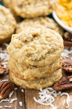 These are seriously the WORLD\'S BEST COOKIES! This recipe is so good.