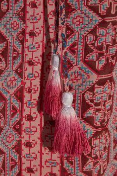 SEA - Printed Silk Top - Red - US10