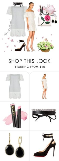 """""""Lace & Butterfly"""" by poshgirlus on Polyvore featuring L.A. Girl, Fallon, Effy Jewelry and Posh Girl"""