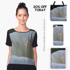 """Get 20% Off On Everything Today including these """"Datura Flower"""" Tops Totes Cases and More!  Available Exclusively from http://ift.tt/2i1uX76 http://ift.tt/2leXUxX (Direct Link)  #datura #flowers #garden #nature #products #cards #clothing #arts #crafts #technology #iphone #samsung #cases #bags #totes #photography #prints #home #housewares #clocks #journals #pillows #clocks #mugs #shop #shopping #redbubble"""