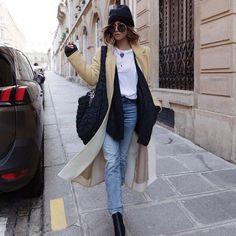 @babiolesdezoe 😻 #Regram via @www.instagram.com/p/CLWUxtvlvut/ French Models, The Chic, Fashion Models, Duster Coat, Instagram, Street Style, My Style, Jackets, Comfy
