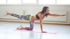 Here's how to build a core workout routine that works more than your abs to keep it strong. Pilates Training, Pilates Workout Routine, Sixpack Training, Pilates Moves, Abs Workout Video, Yoga Core, Hiit, Bird Dog Exercise, Lower Back Exercises