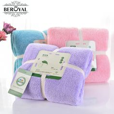 New 2017 bath towel - 1PC microfiber towel Plush Magic towel adult towels bathroom toalha de banho Spa Swimming cloth 70*140cm
