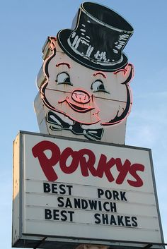 Porkys, St. Paul, MN Gone now, was great place to go  for classic cars, was always full around back to  the 50's!!!
