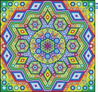 Clamshell Quilt, Hexagon Quilt, Hexagons, La Passion Quilt, English Paper Piecing, Bunt, Quilt Patterns, Mosaic, Patches
