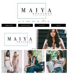 Magento Website Development for Fashion Industry in USA - Maiya Boutique Boutique Homes, Industrial Style, Best Sellers, Ecommerce, Night Out, Shopping, Website, Usa, Dresses