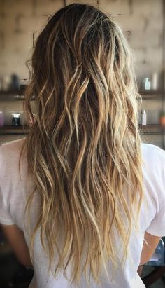 Take a look at 15 Gorgeous and Easy Beach Hairstyles to rock this summer in the photos below and get ideas for your own amazing hairstyles! Side braids and hair rings by Brittany Sullivan Image source Pelo Bronde, Bronde Hair, Balayage Hair, Ombre Hair, Balayage Highlights, Dark Blonde Hair With Highlights, Beach Highlights, Sun Kissed Highlights, Honey Highlights