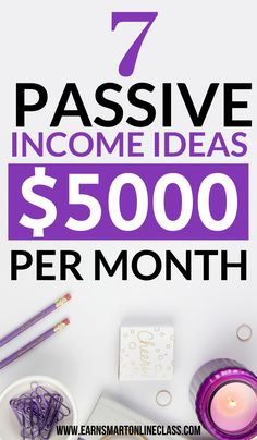 Need passive income ideas? Here are 17 awesome passive income ideas you can start today to make money from home! Earn Money From Home, Make Money Fast, Earn Money Online, Passive Income Streams, Creating Passive Income, Surveys For Money, Earning Money, Start A Business From Home, Online Jobs From Home