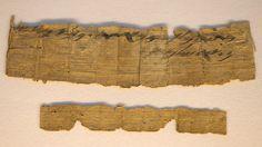 HALLAN LA MENCIÓN EN HEBREO MÁS ANTIGUA DE JERUSALÉN EN UN PAPIRO DE CASI 3.000 AÑOS