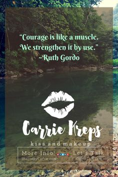 Courage is like a muscle. We strengthen it by use. #LipSense #Gloss strengthens dry and cracked lips. When used every day, you will notice how much more full and healthy your lips become! Don't wait another day to try this amazing product- get yours from me, #CarrieKreps. Explore all the colors in the links below. #SeneGence    VISIT MY WEBSITE HERE:  http://www.j-c-k.us/CarrieKreps?utm_content=buffer45e86&utm_medium=social&utm_source=pinterest.com&utm_campaign=buffer   SCHEDULE AN…