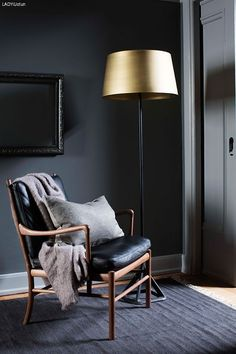 Himla is a Swedish interior design company, which represents Scandinavian simplicity and creative variations in a meaningful way. Swedish Interior Design, Swedish Interiors, Grey Woodwork, Rug Inspiration, Interior Design Companies, Grey Walls, Lamp Design, Decoration, Interior Architecture