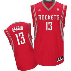 7976bf62898 Revolution 30 Rockets  13 James Harden Red Road Stitched NBA Jersey