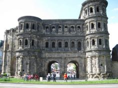 PORTA NEGRA, TRIER, GERMANY  The Black Gate