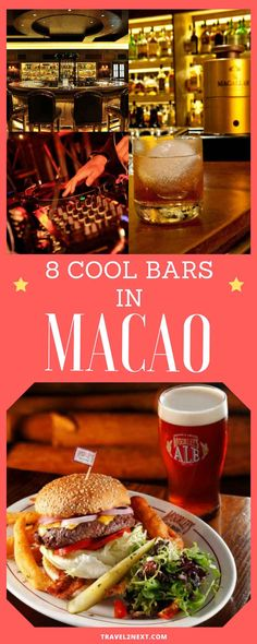 Macau nightlife – 8 cool bars. Macau does a lot of things well.