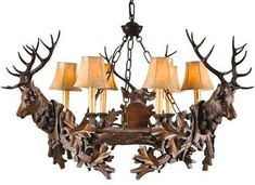 Shop Black Forest Decor today and take savings as high as on rustic chandeliers, like this Three Royal Stags Chandelier! Rustic Chandelier, Chandelier Lighting, Chandeliers, Deer Decor, Rustic Decor, Lustre Antique, Black Forest Decor, Fiberglass Resin, Cabin Lighting