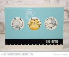 BB I Knead You Stamp Set, Blueprints 23 Die-namics - Sharon Harnist  #mftstamps