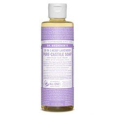 Savon de Castille multi-usage 18 en 1 Lavande 236 ml - Sebio
