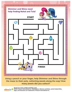 8th Birthday, 2nd Birthday Parties, Birthday Ideas, Happy Birthday, Shimmer And Shine Characters, Shimmer Y Shine, Jasmine Party, Cute Coloring Pages, Party Time
